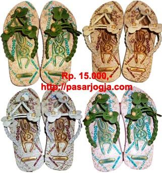 Sandal Batik Jogja  Sandal Khas Bagus dan ModernRp15000